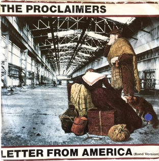 "Proclaimers (The) - Letter From America (7"") (VG/G)"